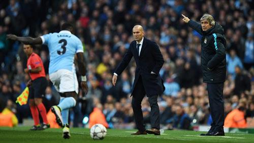 Chưa phân thắng bại, Pellegrini - Zidane cùng hài lòng - 1