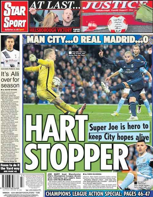 """Báo chí Anh nức nở khen """"siêu anh hùng"""" Joe Hart - 1"""
