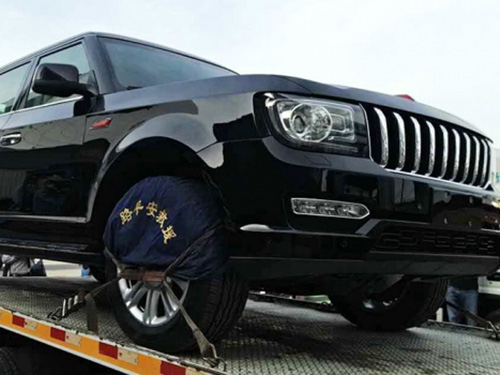 "Hồng Kỳ LS5: SUV ""rẻ tiền"" nhái xe sang Range Rover - 1"
