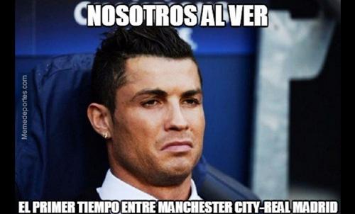 Ảnh chế Man City - Real: Ronaldo mặt nhăn nhó - 1