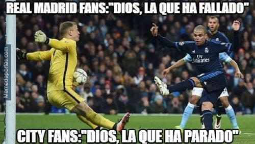 Ảnh chế Man City - Real: Ronaldo mặt nhăn nhó - 6