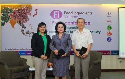 Triển lãm nguyên liệu phụ gia thực phẩm Fi Vietnam 2016 - 2