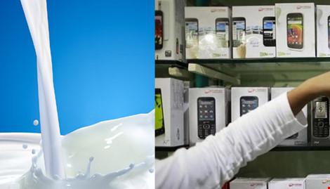 Cấm nhập sữa, điện thoại từ TQ vì chất lượng quá kém - 1