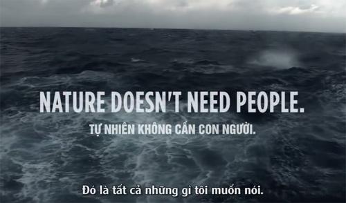 """Clip """"Đại dương cảnh báo con người"""" gây ám ảnh - 2"""