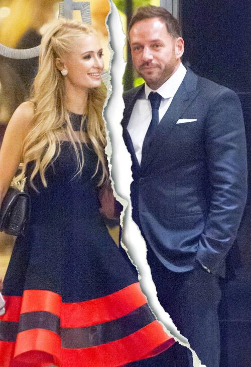 """Paris Hilton và bạn trai tỷ phú đã """"đường ai nấy đi"""" - 1"""