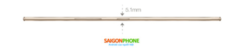 Thông tin chính thức về Arbutus One Slim mỏng 5.1mm - 4