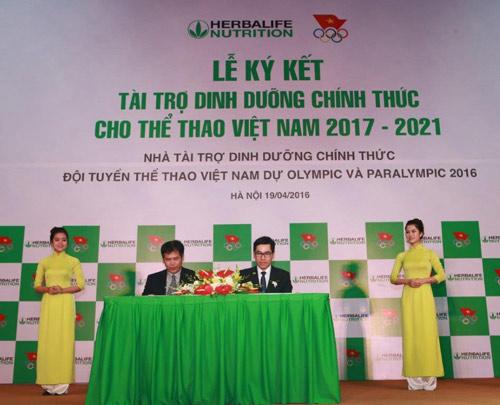 Herbalife – Đối tác chiến lược của đoàn thể thao Việt Nam - 1