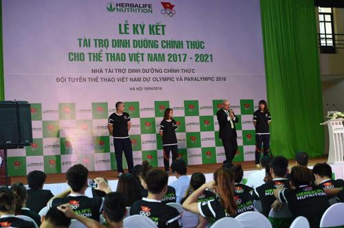 Herbalife – Đối tác chiến lược của đoàn thể thao Việt Nam - 2