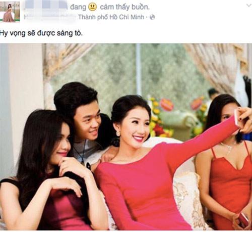 """Hoa khôi Kiên Giang: """"Tôi và Phan Thành chỉ là cậu cháu"""" - 3"""
