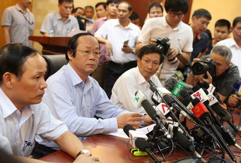 Toàn văn bài phát biểu của Thứ trưởng Bộ TN-MT về vụ cá chết - 1