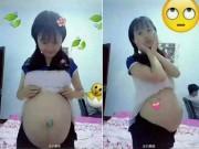 Bạn trẻ - Cuộc sống - Trung Quốc: Nữ sinh cấp 3 bị ném đá vì khoe bụng bầu