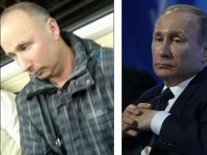 Bắt gặp người giống Putin y xì trên tàu điện ngầm