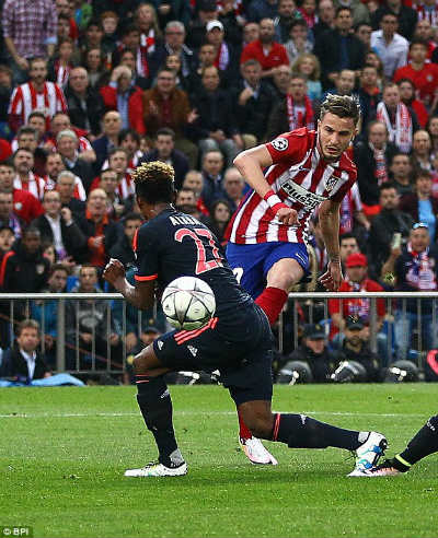 xem bóng đá trực tiếp Atletico vs Bayern - 3