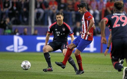 Video Atletico Madrid vs Bayern Munich - 1