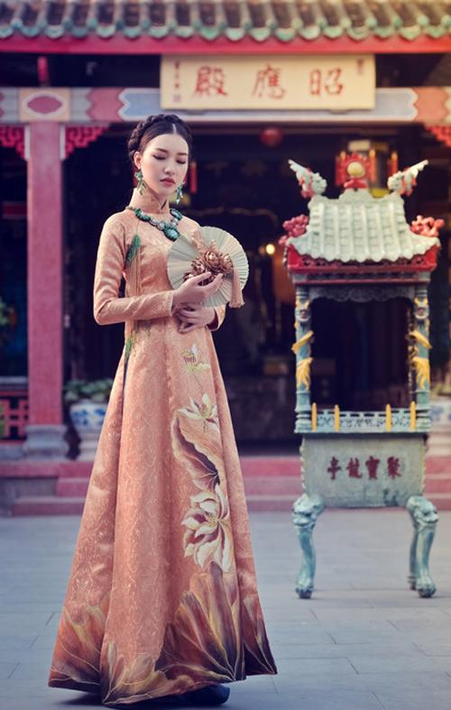 Hoa khôi Du lịch đẹp mơ màng với áo dài đậm chất Huế - 6