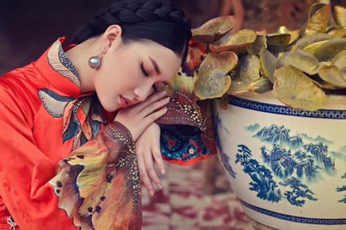Hoa khôi Du lịch đẹp mơ màng với áo dài đậm chất Huế - 10