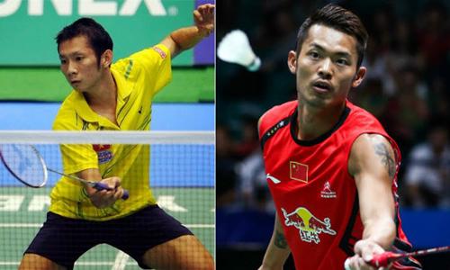 Giải cầu lông toàn sao: Chen Long, Lee Chong Wei đại thắng - 1