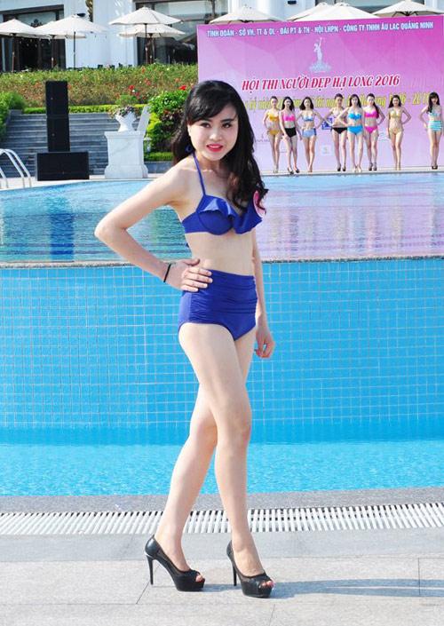 Dàn Người đẹp Hạ Long bị chê lộ mỡ bụng khi mặc bikini - 5