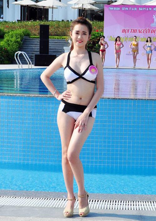Dàn Người đẹp Hạ Long bị chê lộ mỡ bụng khi mặc bikini - 10