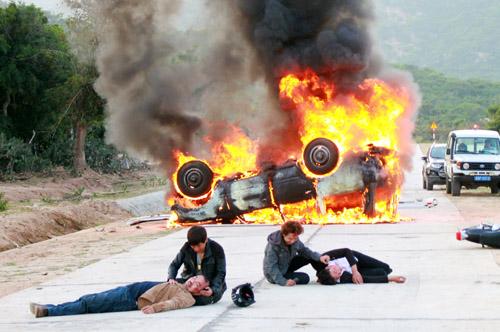 Lý Hải đốt xe 2 tỷ vì phim hành động - 1