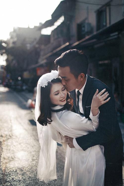 Ảnh cưới đậm chất hoài cổ của cặp đôi 9x gây chú ý - 2