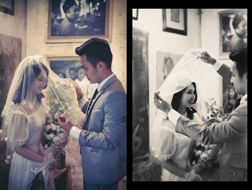 Ảnh cưới đậm chất hoài cổ của cặp đôi 9x gây chú ý - 4