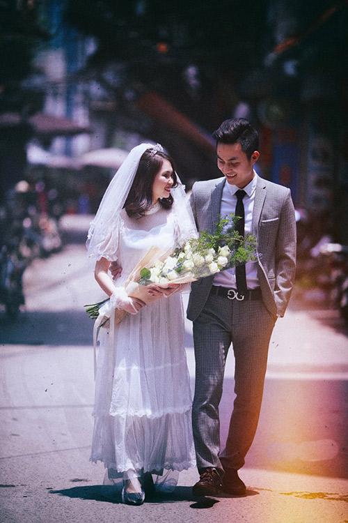 Ảnh cưới đậm chất hoài cổ của cặp đôi 9x gây chú ý - 7