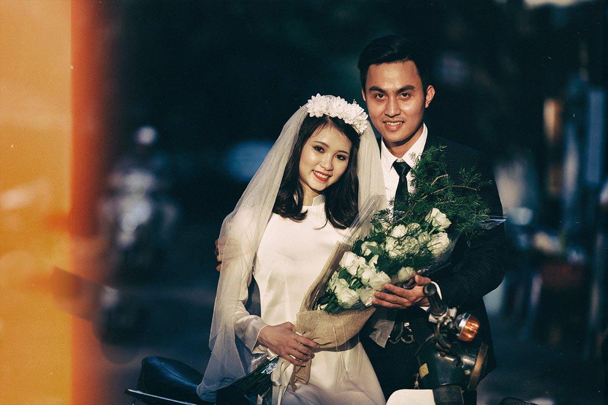 Ảnh cưới đậm chất hoài cổ của cặp đôi 9x gây chú ý - 12