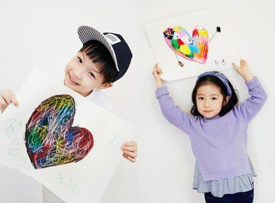"""Fan """"phát sốt"""" với loạt ảnh của 3 mẹ con Lee Young Ae - 5"""