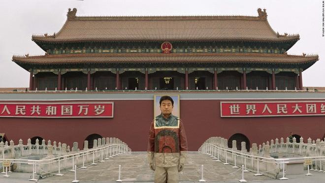 """Chàng họa sĩ có khả năng """"tàng hình"""" ở Trung Quốc - 2"""