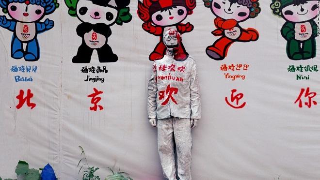 """Chàng họa sĩ có khả năng """"tàng hình"""" ở Trung Quốc - 5"""