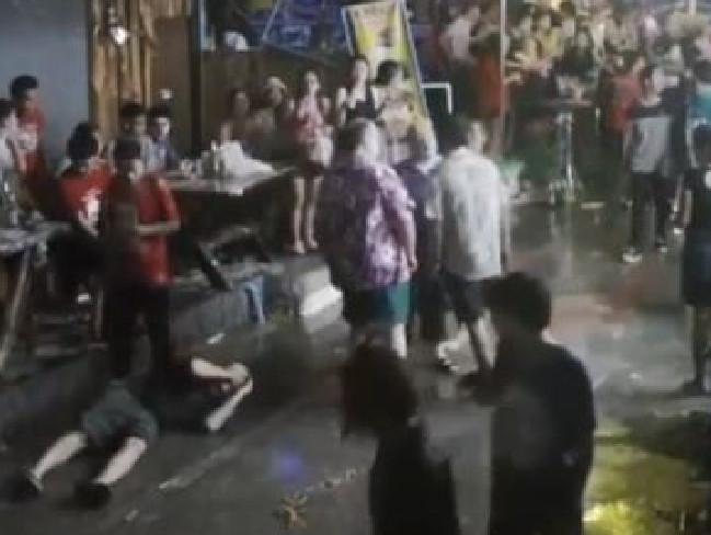 Du khách Tây bị đánh tơi bời ở Thái Lan - 1
