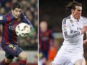 Bóng đá - Suarez, Bale dứt điểm thiện nghệ top bàn thắng vòng 35 Liga