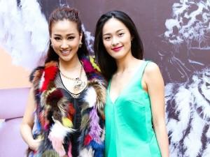 Bạn gái Quốc Cường thân thiết với Maya như chị em