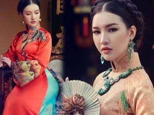 Hoa khôi Du lịch đẹp mơ màng với áo dài đậm chất Huế