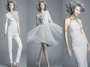 Hằng Nguyễn gây ấn tượng với váy áo khoét xẻ thú vị
