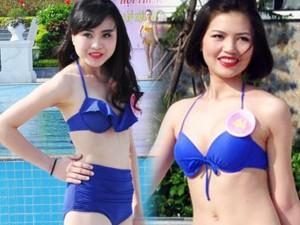 Dàn Người đẹp Hạ Long bị chê lộ mỡ bụng khi mặc bikini