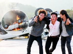 Lý Hải đốt xe 2 tỷ vì phim hành động