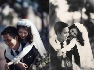 Bạn trẻ - Cuộc sống - Ảnh cưới đậm chất hoài cổ của cặp đôi 9x gây chú ý