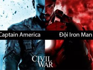 """Đọ sức mạnh của siêu anh hùng trong """"Captain America"""""""
