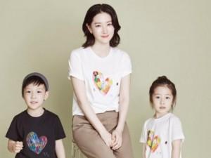 """Fan """"phát sốt"""" với loạt ảnh của 3 mẹ con Lee Young Ae"""