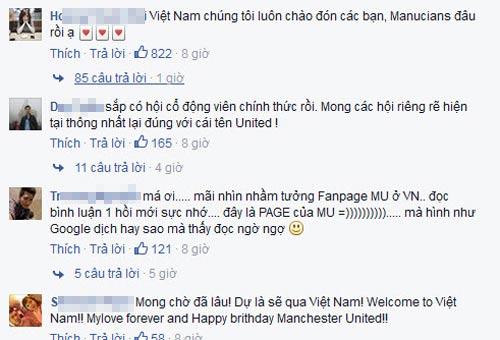 Fan Việt mở hội với lời mời chính thức từ MU - 2