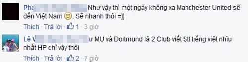 Fan Việt mở hội với lời mời chính thức từ MU - 3