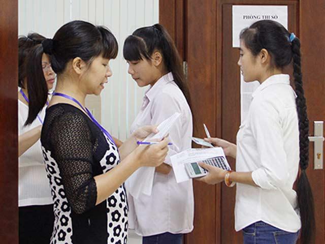 Mạo danh ĐH Quốc gia Hà Nội tổ chức luyện thi và thi thử - 1