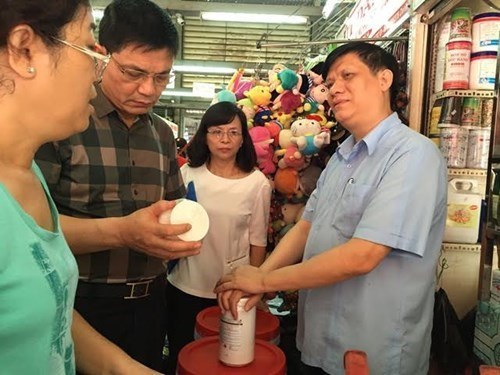 """Bộ Y tế kiểm tra chợ """"thần chết"""" Kim Biên TPHCM - 1"""
