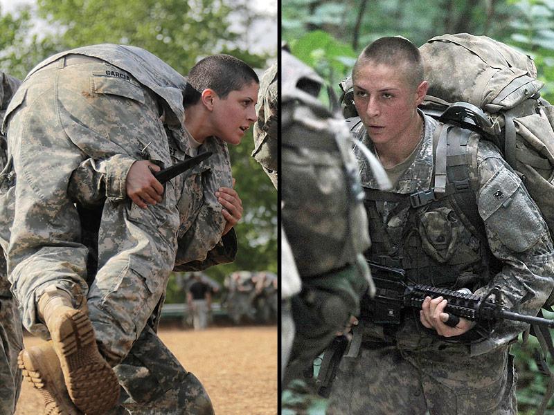 Lần đầu tiên quân đội Mỹ có nữ sĩ quan bộ binh - 1