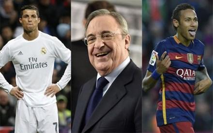 Cha Neymar gặp gỡ Chủ tịch Perez, dọn đường đến Real Madrid - 1