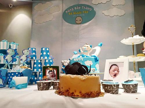 Ly Kute tổ chức tiệc đầy tháng hoành tráng cho con trai - 2