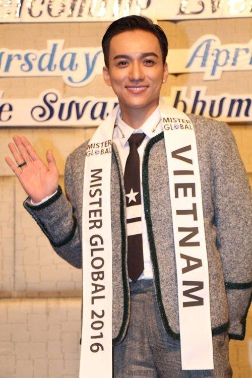 Đại diện Việt Nam gây chú ý giữa dàn thí sinh Mister Global 2016 - 1