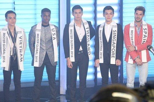 Đại diện Việt Nam gây chú ý giữa dàn thí sinh Mister Global 2016 - 2